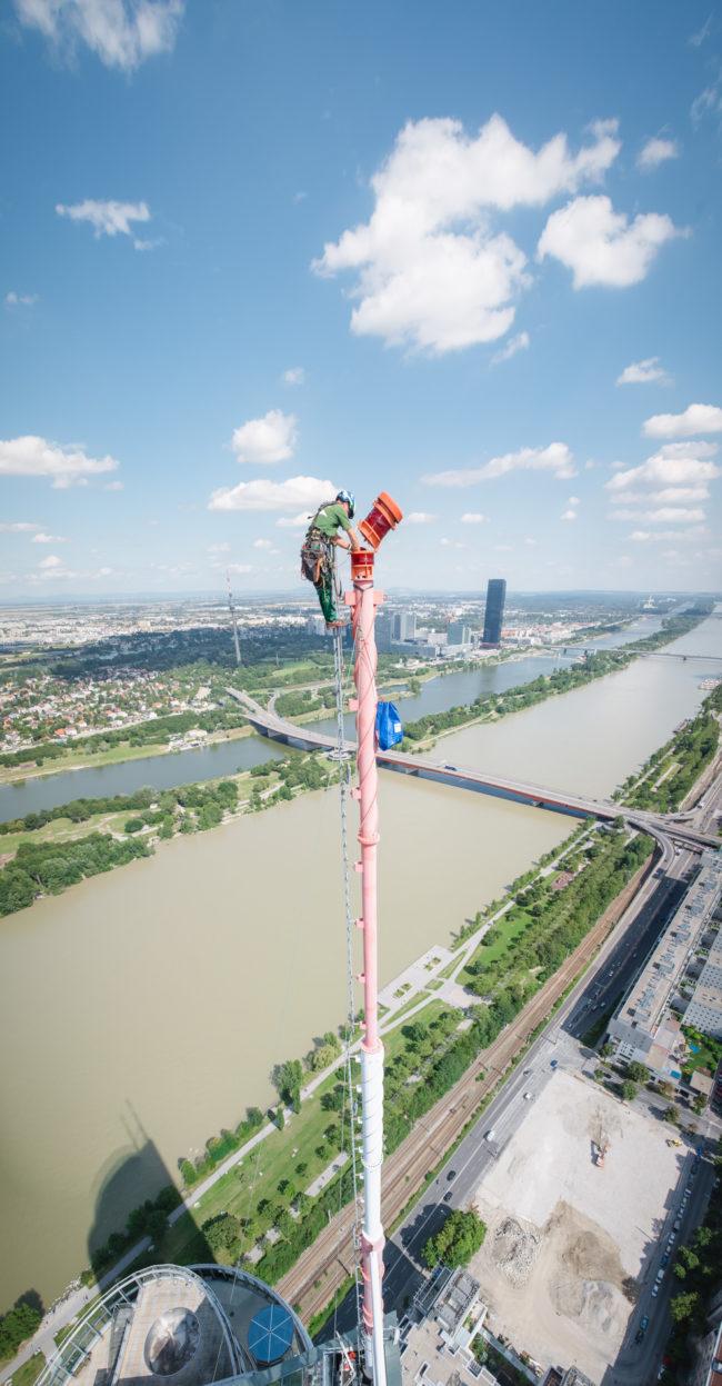 Thorsten | Industriekletterer | Millenium Tower