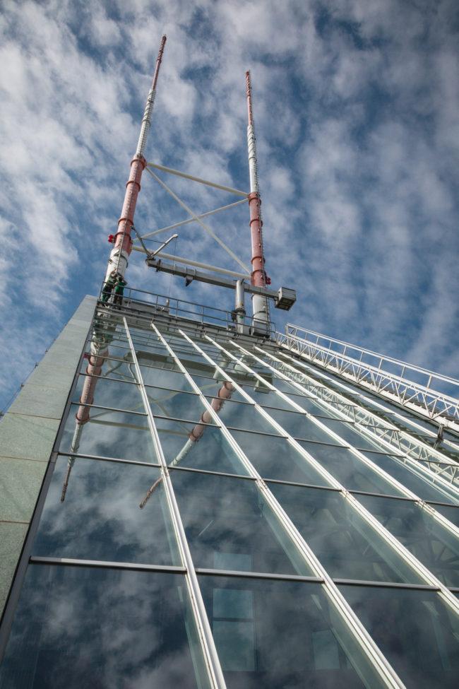 Thorsten & Zoltan | Industriekletterer | Millenium Tower