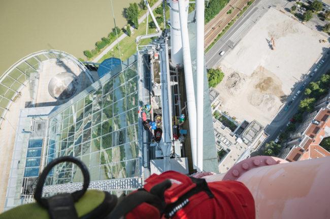 KiTO | Industriekletterer | Millenium Tower