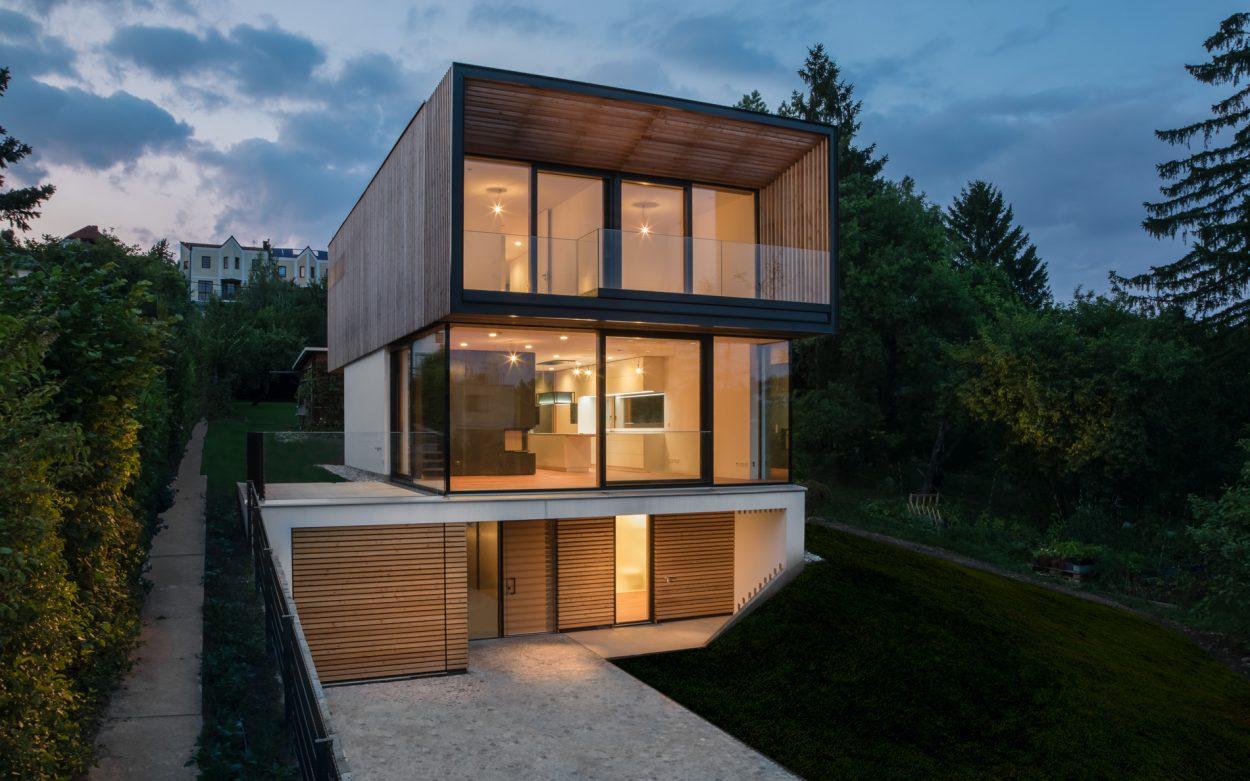 EFH wooden frame | f2p architekten | Niedrigenergiewohnhaus