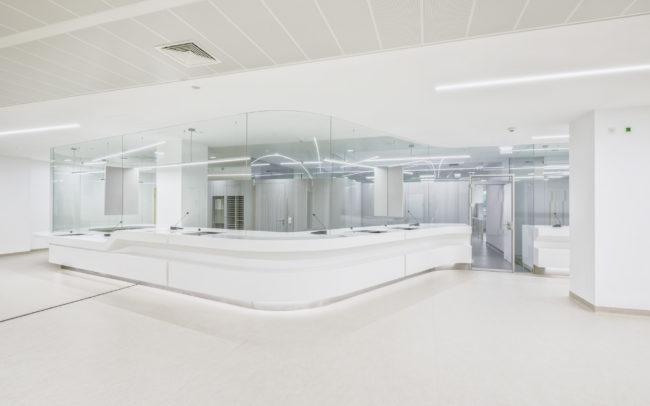 Aufnahme Kassa Donauspital | Adaptierung | f2p